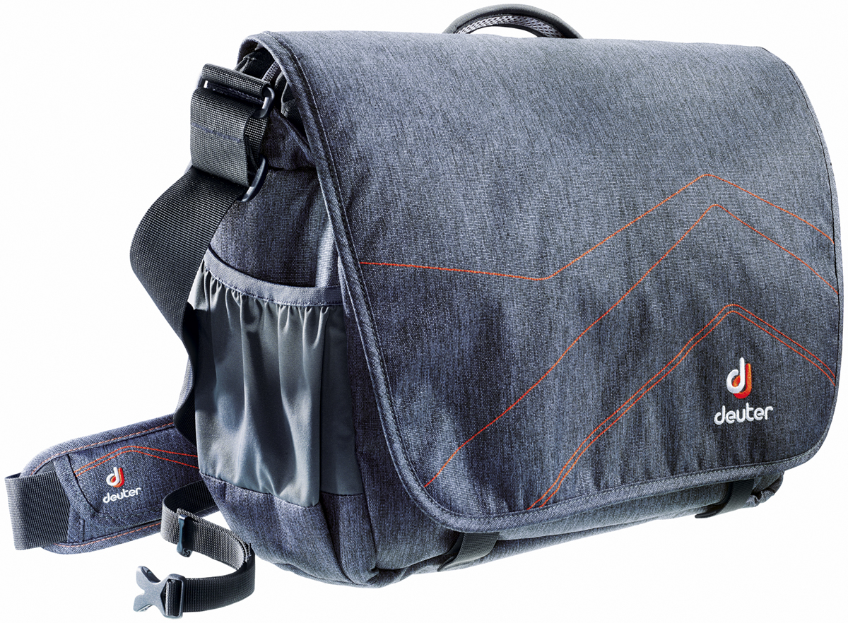 Deuter Сумка на плечо Shoulder Bags Operate III цвет серый оранжевый цены