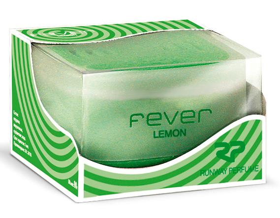 Ароматизатор воздуха Runway Fever. Lemon, цвет: зеленый ароматизатор воздуха runway fever vanilla цвет оранжевый