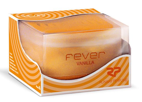 Ароматизатор воздуха Runway Fever. Vanilla, цвет: оранжевый ароматизатор воздуха runway fever vanilla цвет оранжевый