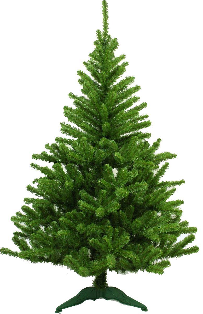 Ель искусственная Morozco Московская, цвет: зеленый, высота 1,2 м ель искусственная morozco настольная цвет серебристый высота 30 см