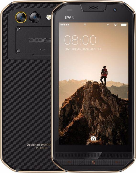 Смартфон Doogee S30 2/16GB, золотистый. Уцененный товар смартфон doogee s30 16 гб золотистый