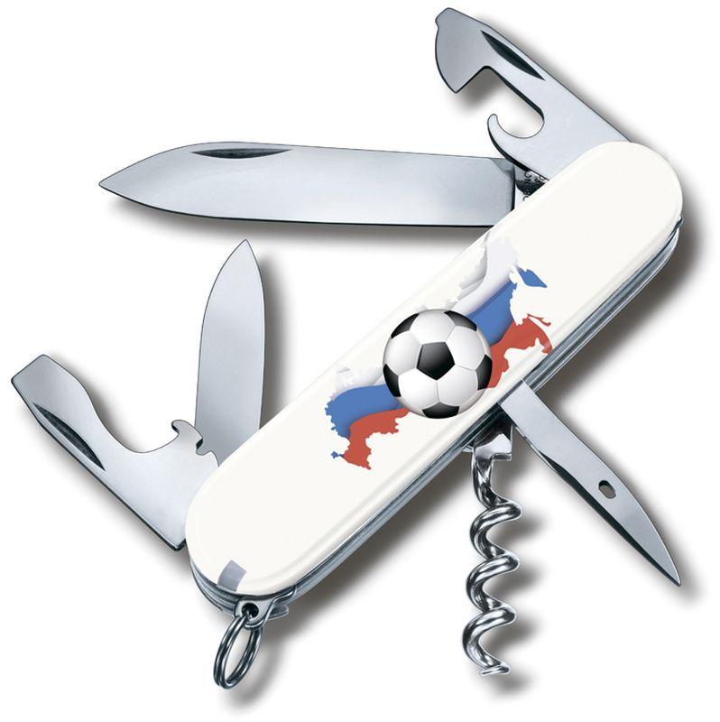 Нож перочинный Victorinox Spartan. Российский футбол, 12 функций, 9,1 см