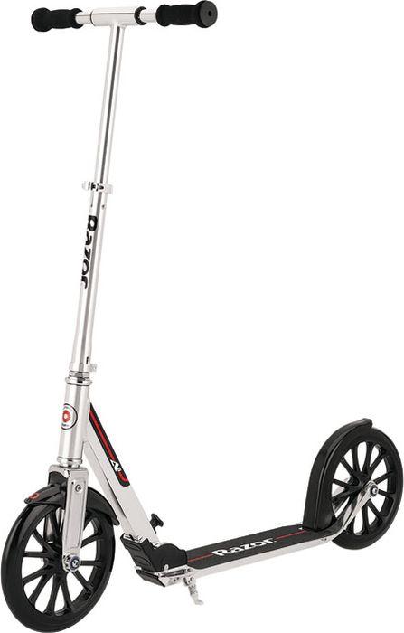 Самокат городской Razor A6, цвет: серый металлик подшипники для руля самоката м кузьминки
