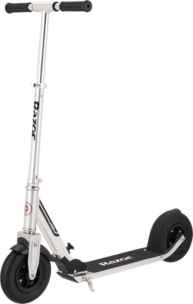 Самокат городской Razor A5 AIR, цвет: серый металлик колеса для самоката надувные