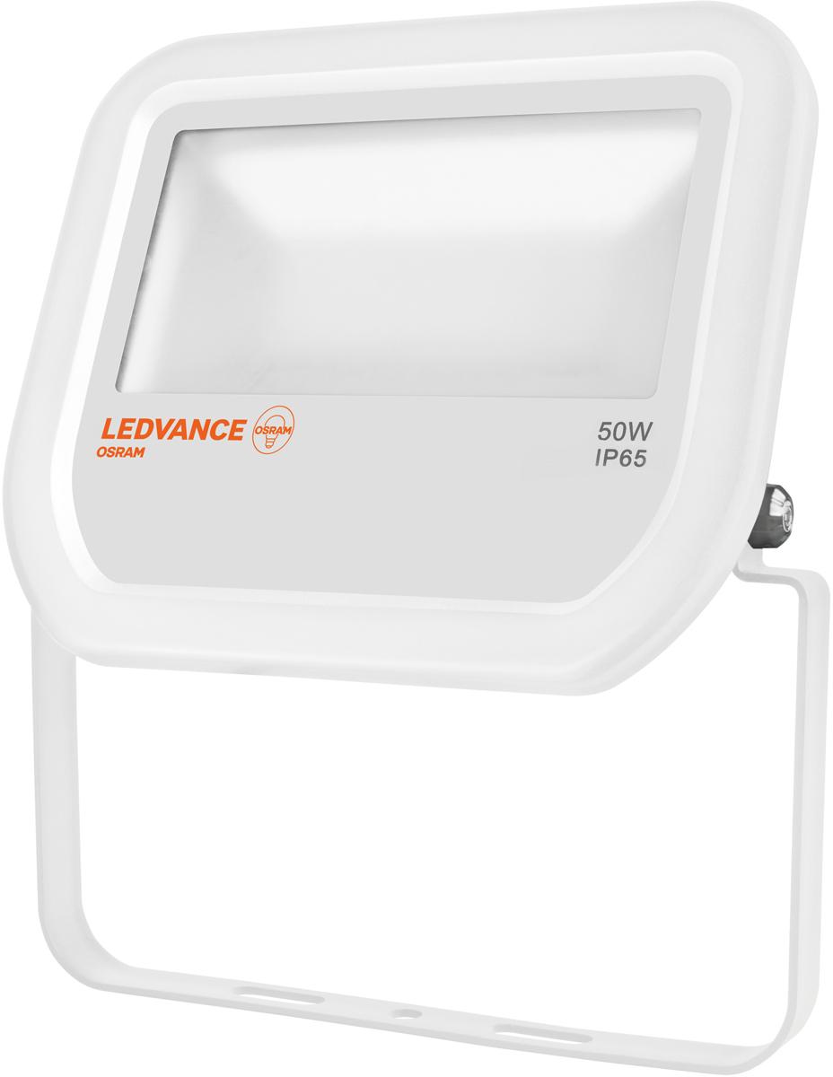 Прожектор Osram Floodlight, LED, 50W, 3000 К, IP65, цвет: белый. 4058075001145