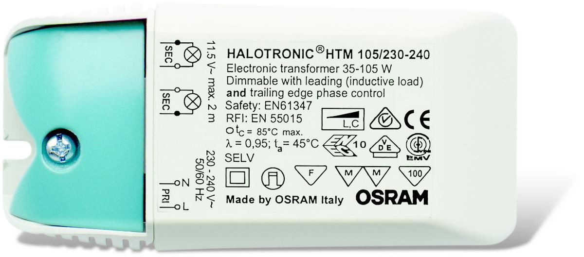 Блок питания для светильника Osram, 105 Вт soft htm