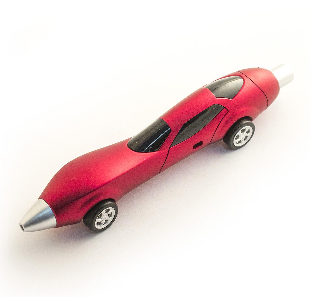 Эврика Ручка шариковая Авто №2 цвет корпуса красный98519Разноцветные миниатюрные автомобили всегда производят впечатление на представителей мужской половины человечества, а если это еще и удобная шариковая ручка Авто №2, которую так приятно держать за обтекаемые бока, то радость длится существенно дольше. Стержень сменяемый.