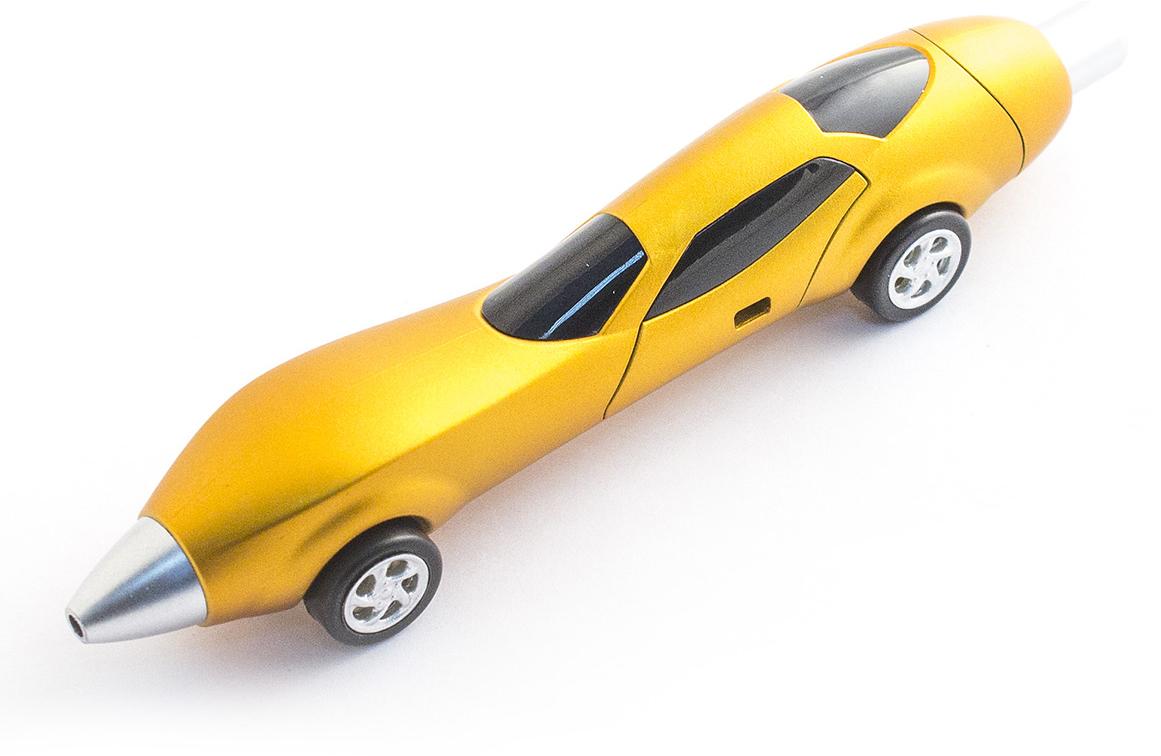 Фото - Эврика Ручка шариковая Авто №3 цвет корпуса желтый авто