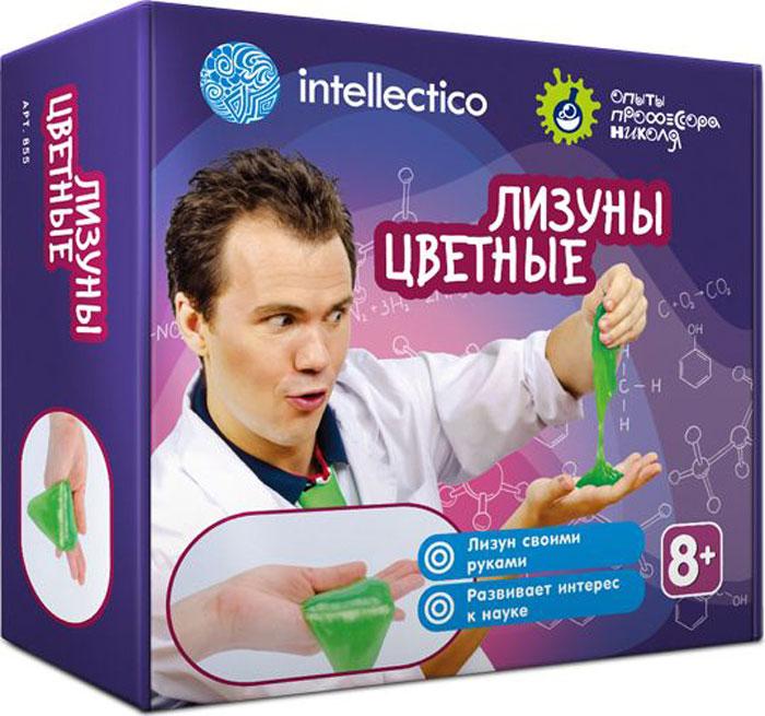 Intellectico Набор для опытов и экспериментов Лизуны цветные