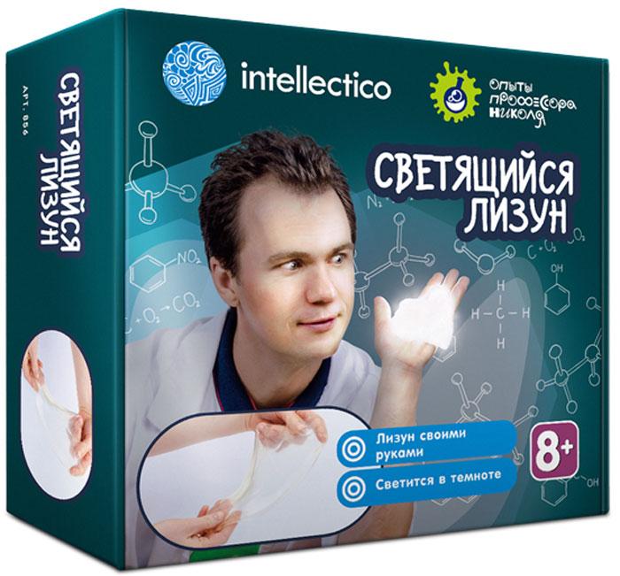 Intellectico Набор для опытов и экспериментов Лизуны светящиеся