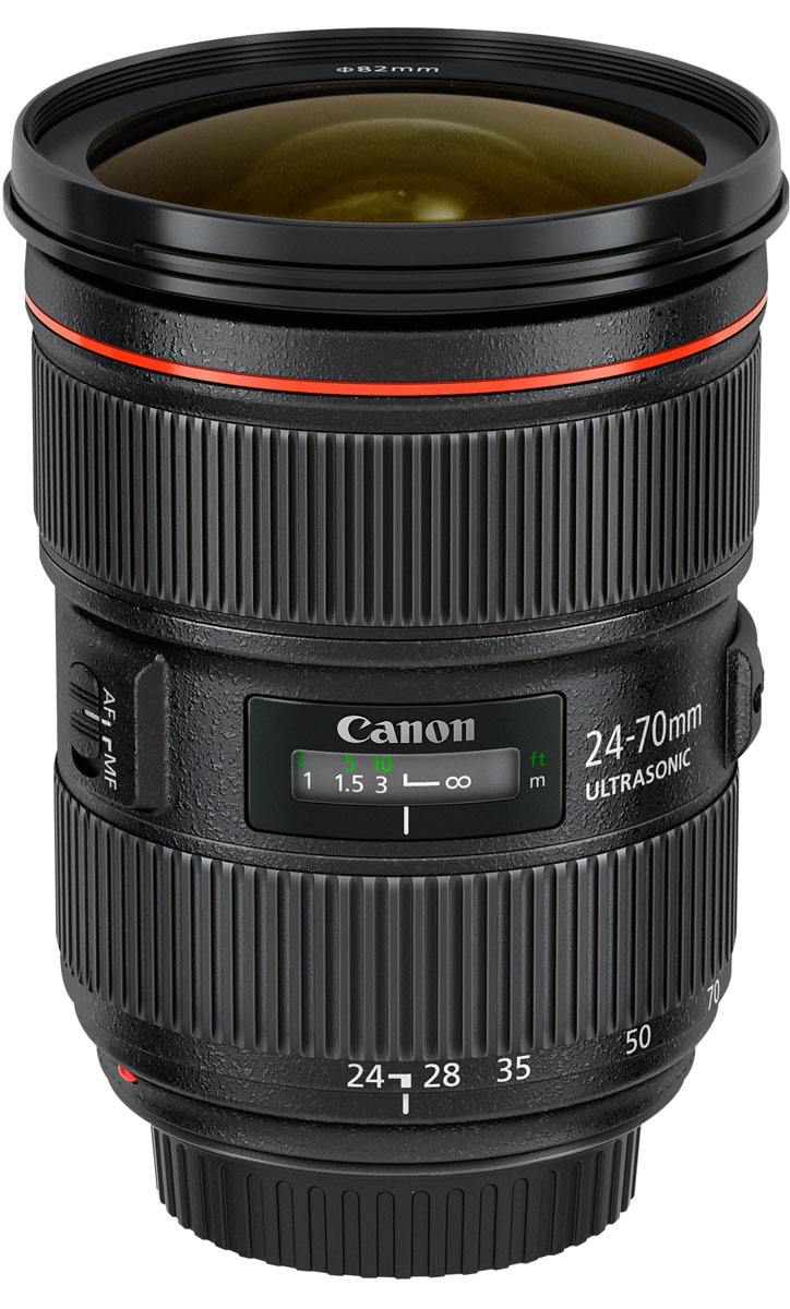 Объектив Canon EF 24-70 mm 2.8L II USM, Black