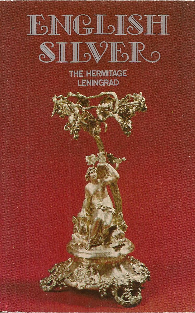 English silver. The Hermitage. Leningrad (набор из 16 открыток) ленинград leningrad набор из 16 открыток
