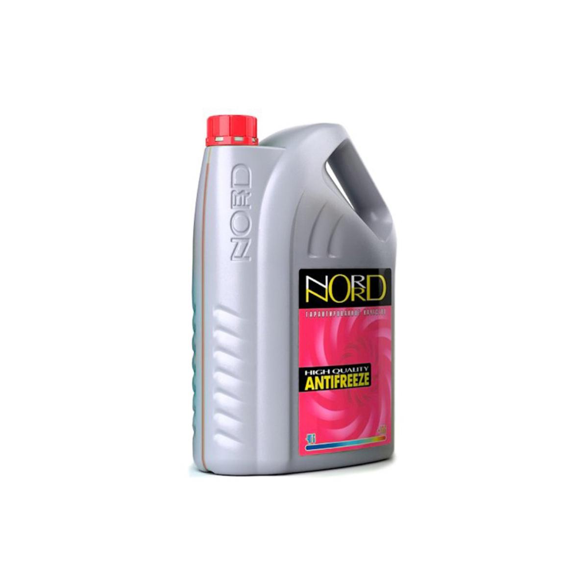 """Антифриз """"Nord"""", цвет: красный, 10 кг"""