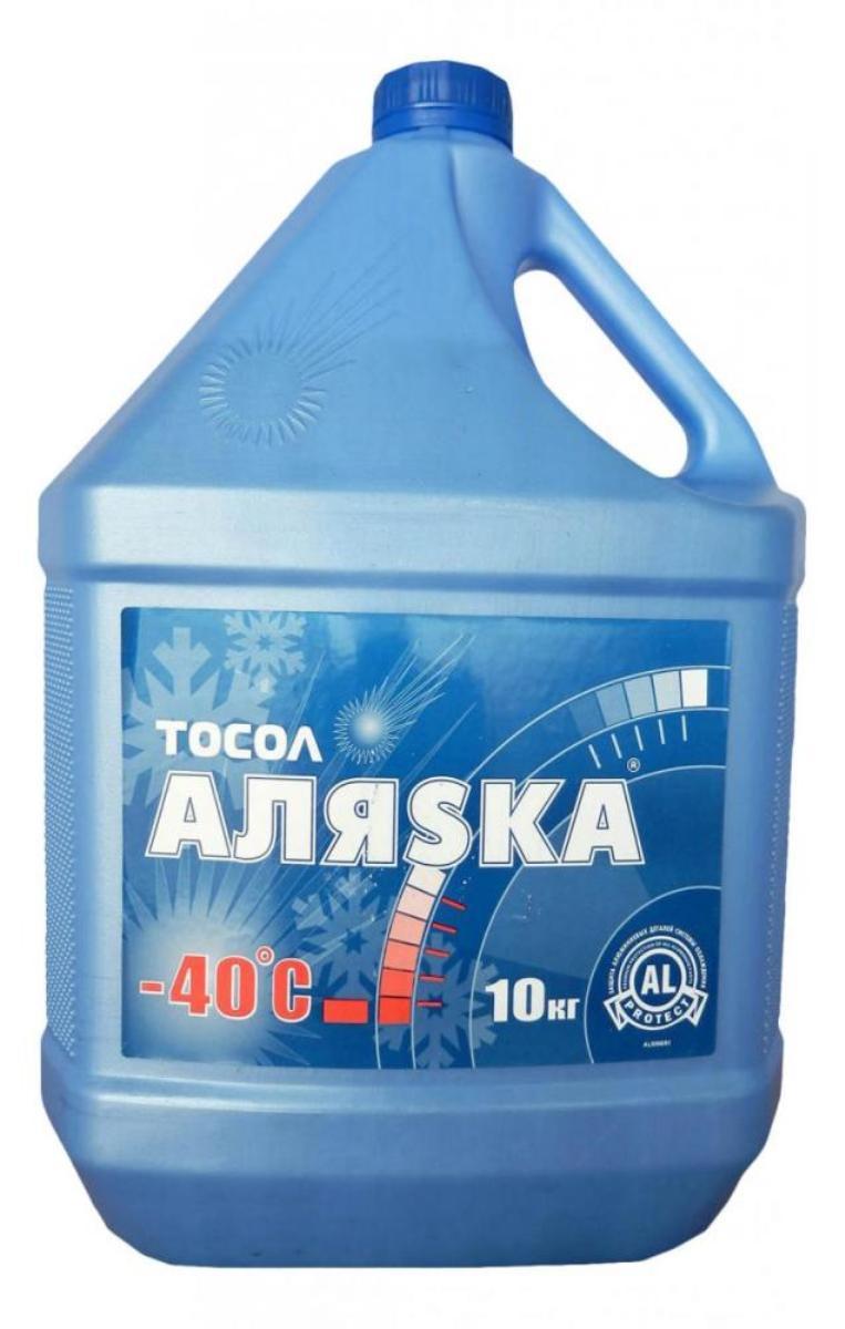 Тосол Аляска А-40, 10 кг жидкость охлаждающая тосол 45 felix 5 кг