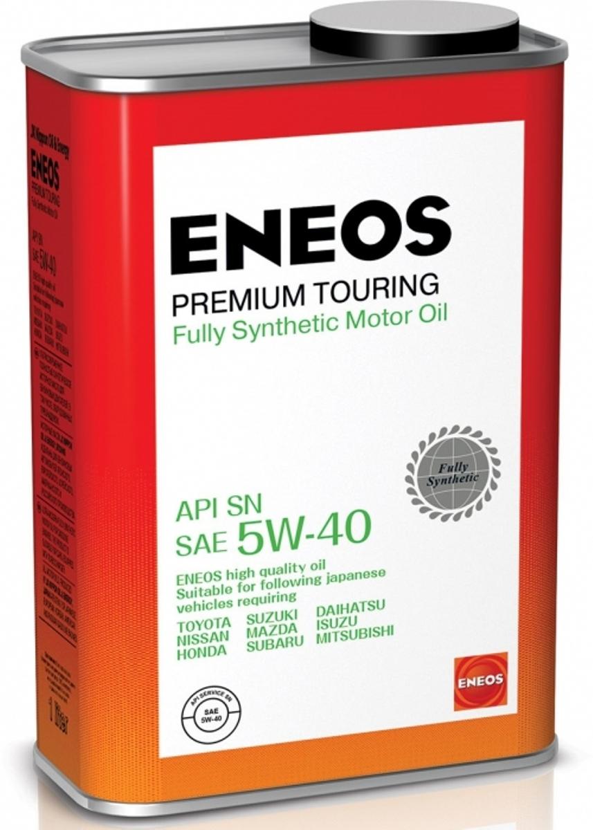 Масло моторное ENEOS Premium Touring, синтетическое, 5W-40, 1 л масло моторное eneos premium ultra синтетическое 5w 20 4 л