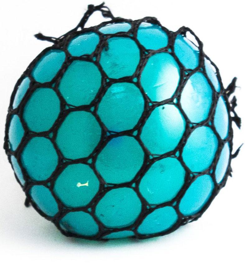 Игрушка-мялка Эврика Шарик, цвет: синий цена