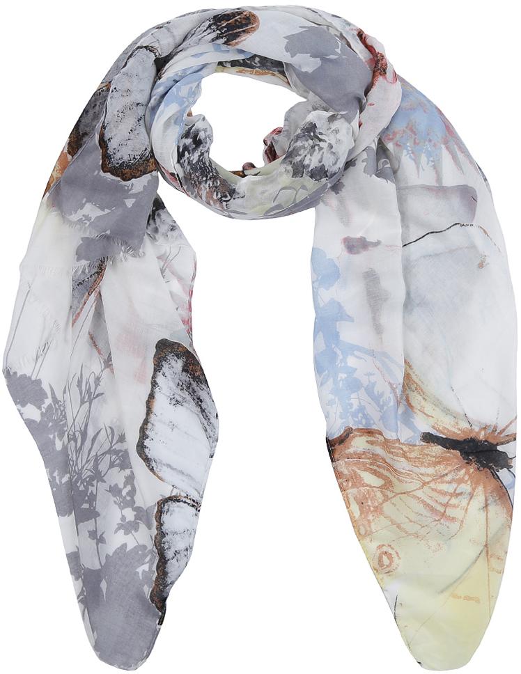 Шарф женский Fabretti, цвет: разноцветный. PPS1194-6. Размер 85 x 190 см женский шарф из вискозы