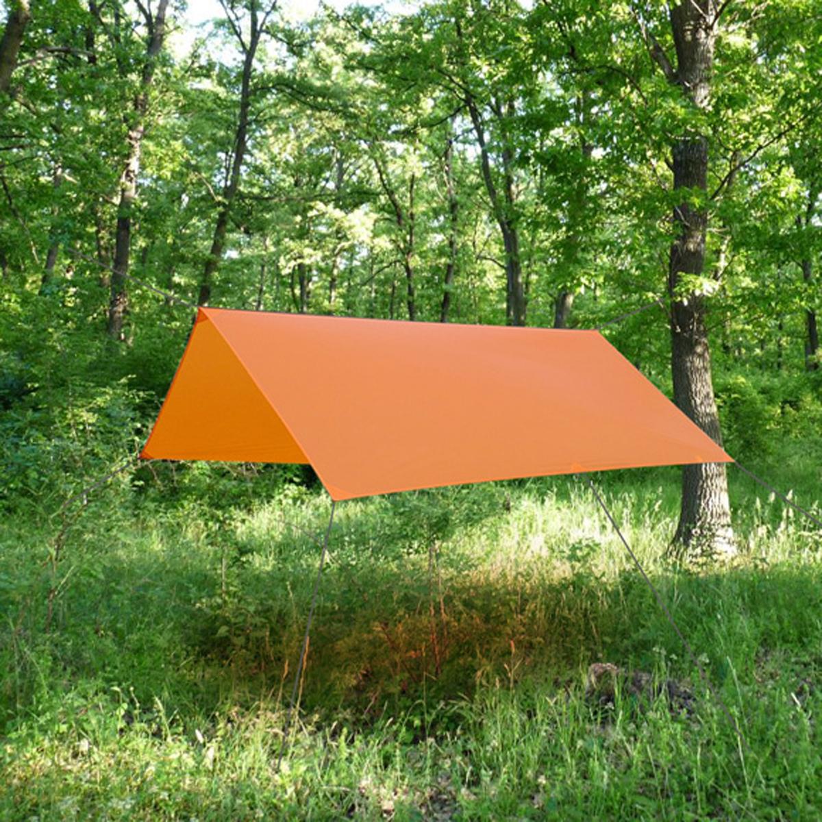 Тент Сплав Cowl, цвет: оранжевый, 2,7 x 3 м