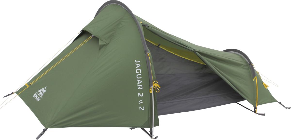 Палатка Сплав Jaguar 2 v.2, 2-местная, цвет: зеленый