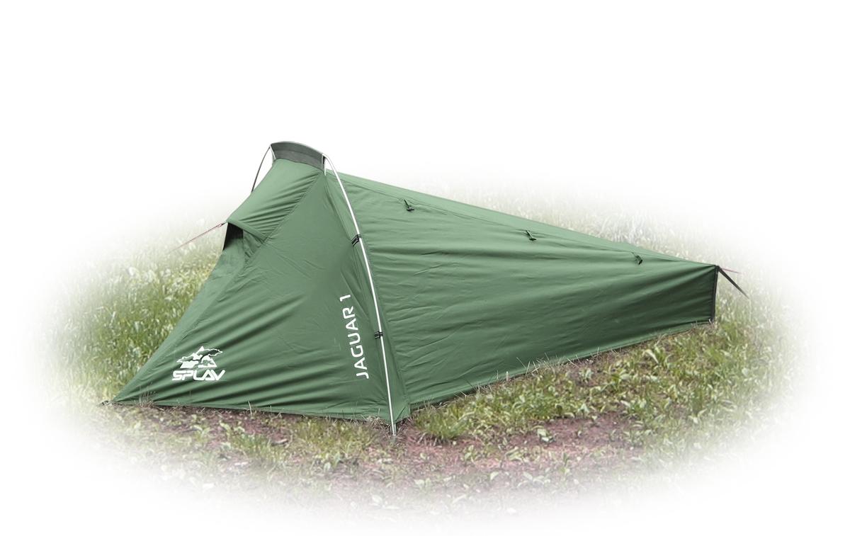 Палатка Сплав Jaguar 1, цвет: зеленый