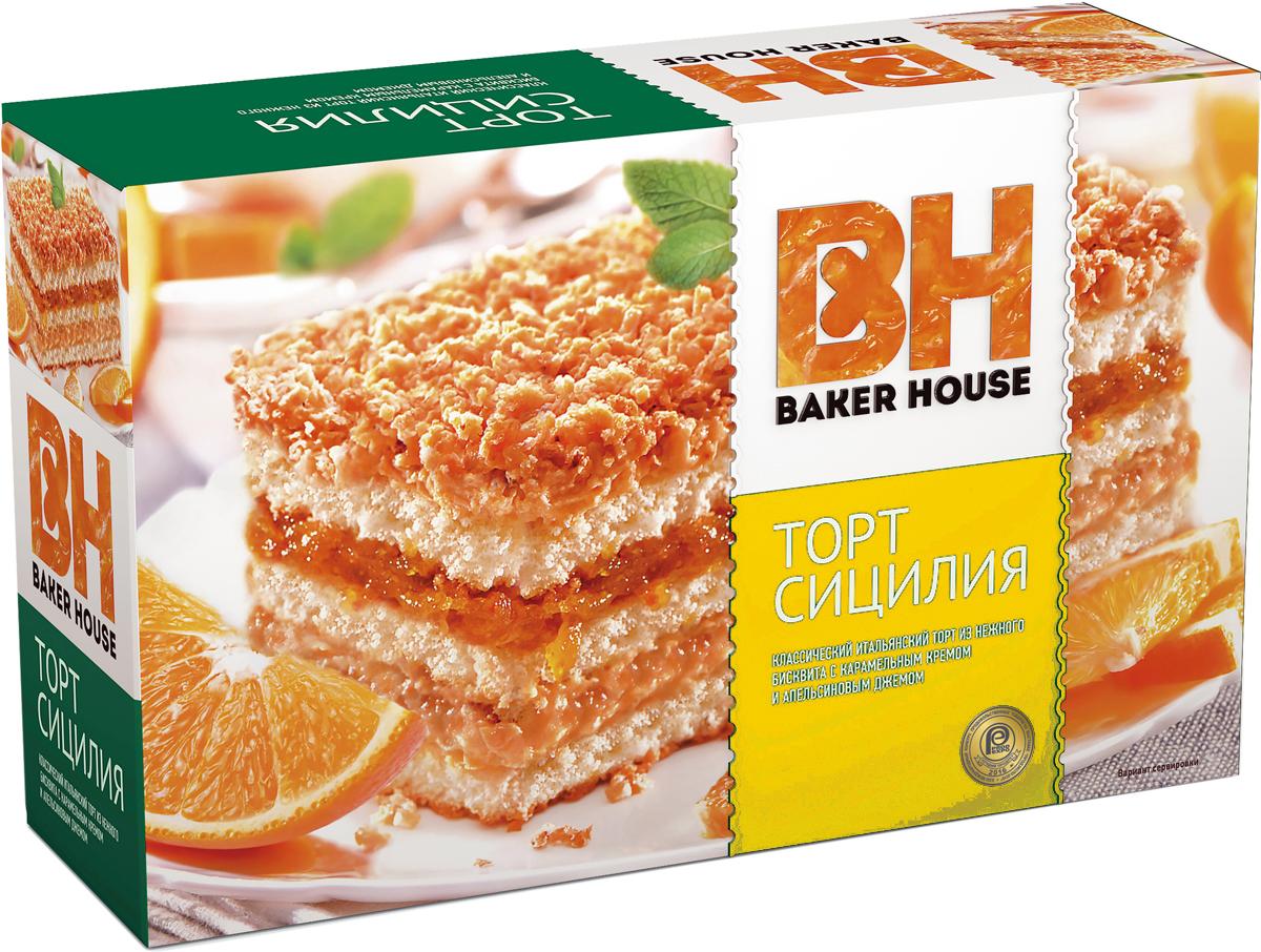Baker HouseСицилия торт бисквитный, 350 г Baker House