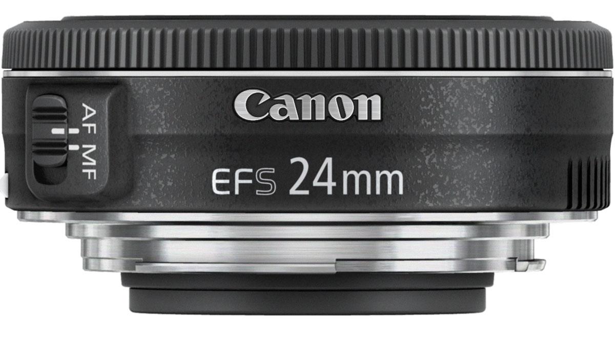 Объектив Canon EF-S 24 mm 2.8 STM, Black Canon