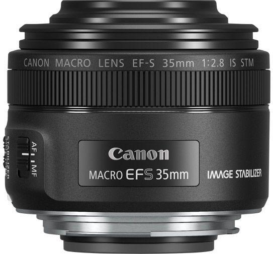 Объектив Canon EF-S 35 mm 2.8 Macro IS STM, Black