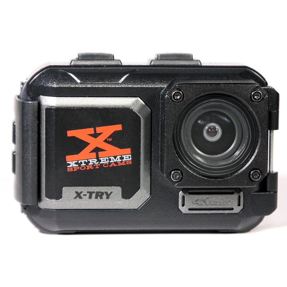 экшн-камера x-try x-try хтс810 hydra ultra hd цифровая экшн-камера. уцененный товар