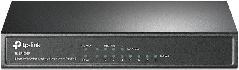 TP-LINK TL-SF1008P коммутатор (8 портов) сканер открытых портов по ip