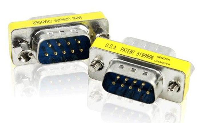 GCR GCR-CV204, Silver переходник COM RS-232 DB9M - DB9M orient uss 102n кабель адаптер usb am to rs232 db9m wch ch340 поддержка win 8 x 10 длина 0 8м крепеж разъема винты