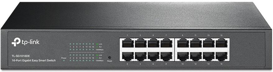 TP-LINK TL-SG1016D коммутатор (16 портов)