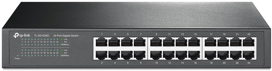 TP-LINK TL-SG1024D коммутатор (24 порта)