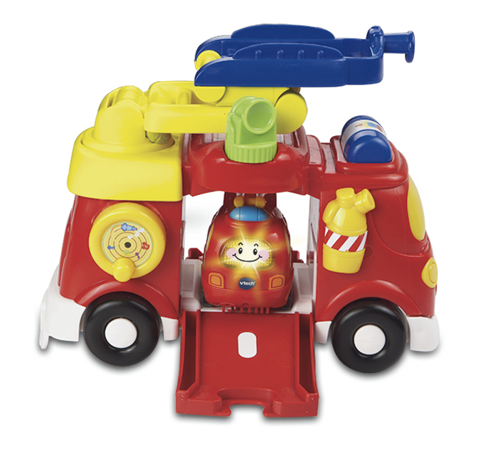 все цены на Vtech Бип-Бип Toot-Toot Drivers Пожарная машина 80-151326 онлайн