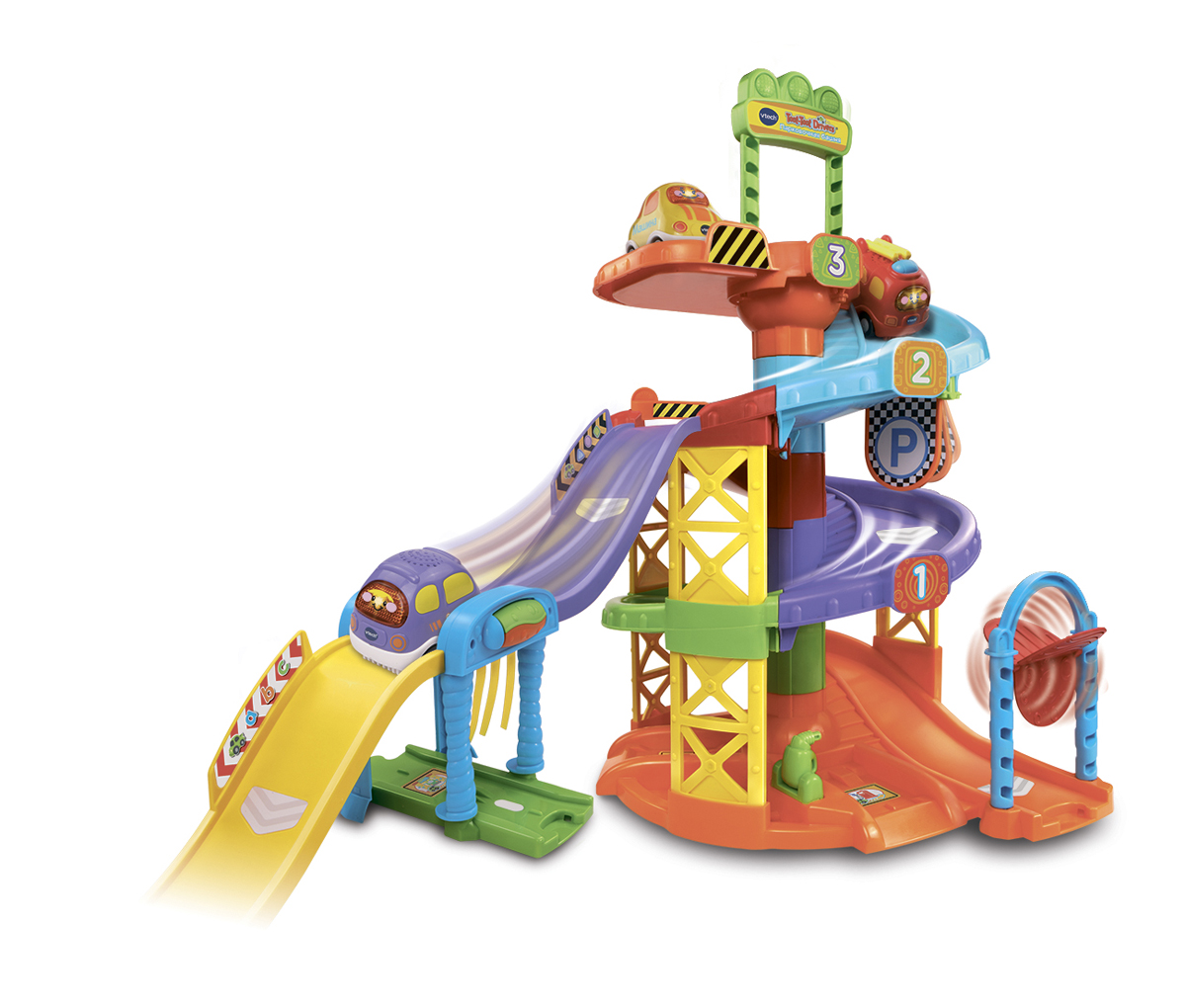 Vtech Игрушечный трек Парковочная башня Бип-Бип Toot-Toot Drivers