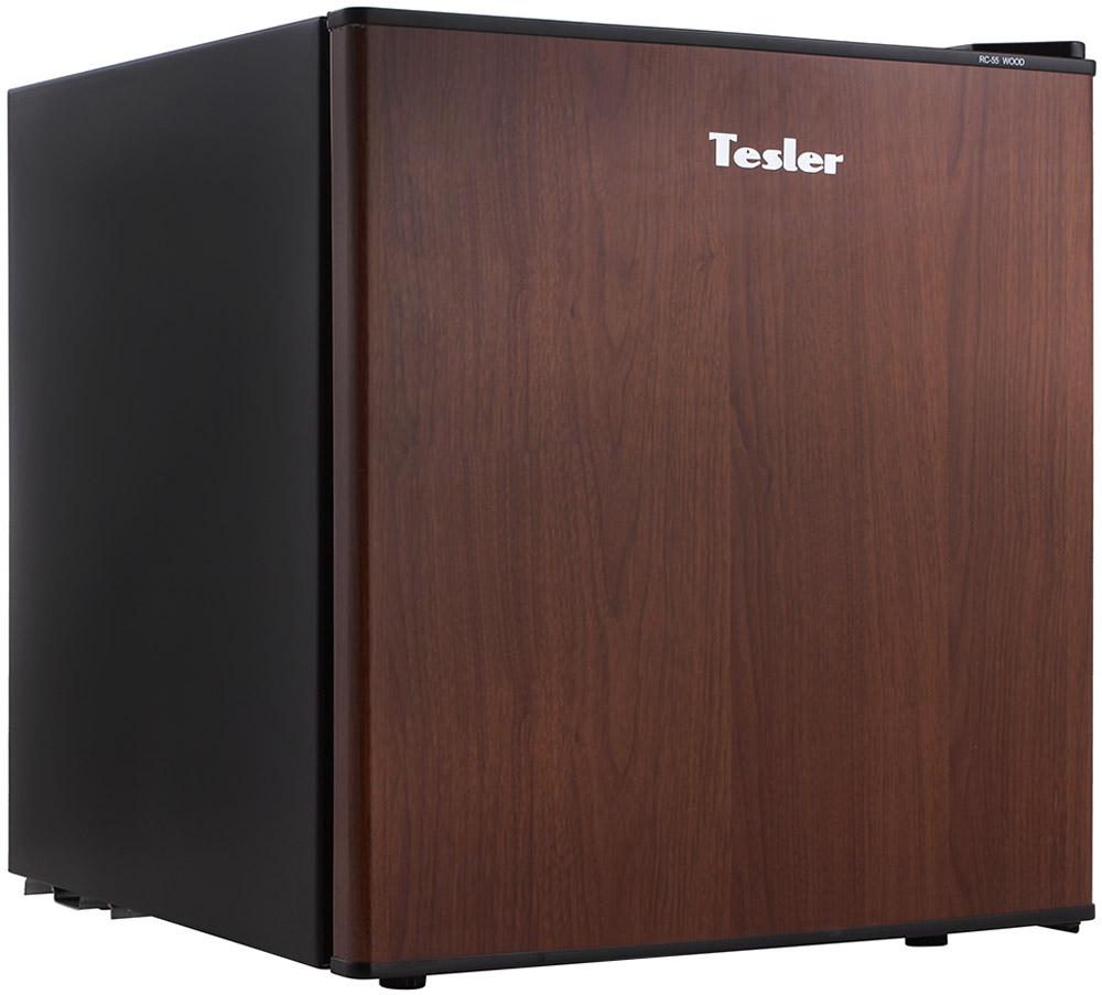 Холодильник Tesler RC-55, коричневый
