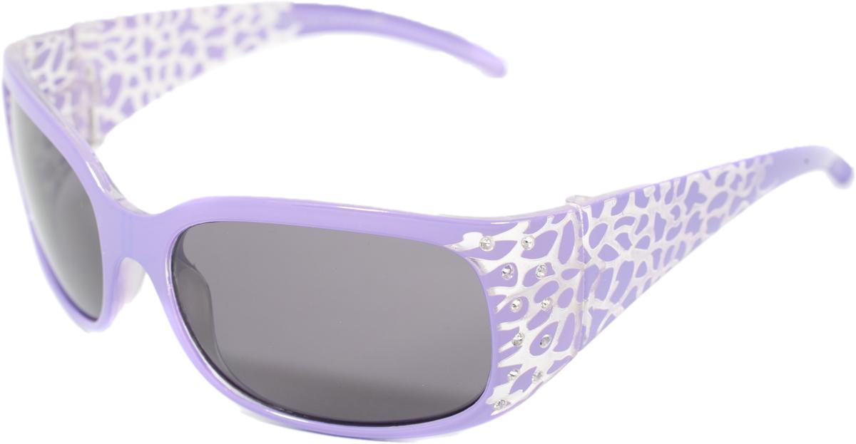 Очки солнцезащитные для девочки Mitya Veselkov, цвет: фиолетовый. OS-18.003 все цены