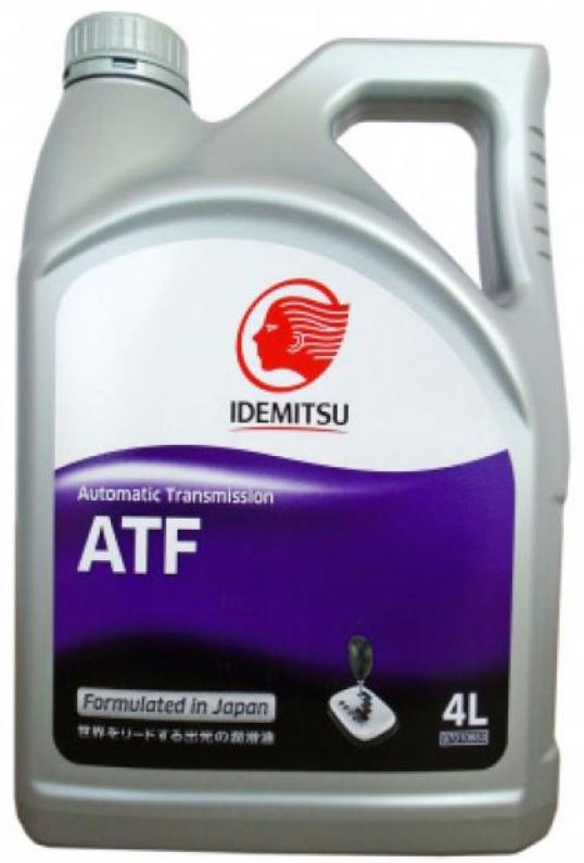 Масло трансмиссионное IDEMITSU, синтетическое, ATF, 4 л