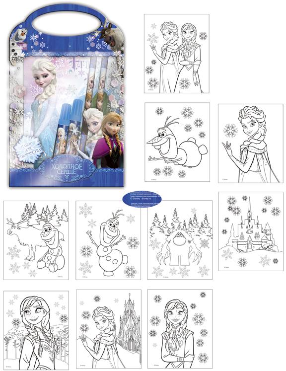 Disney Набор для рисования Frozen 1820069