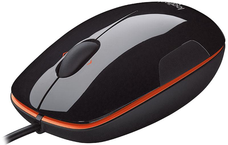 лучшая цена Мышь Logitech M150, Black Orange (910-003744)