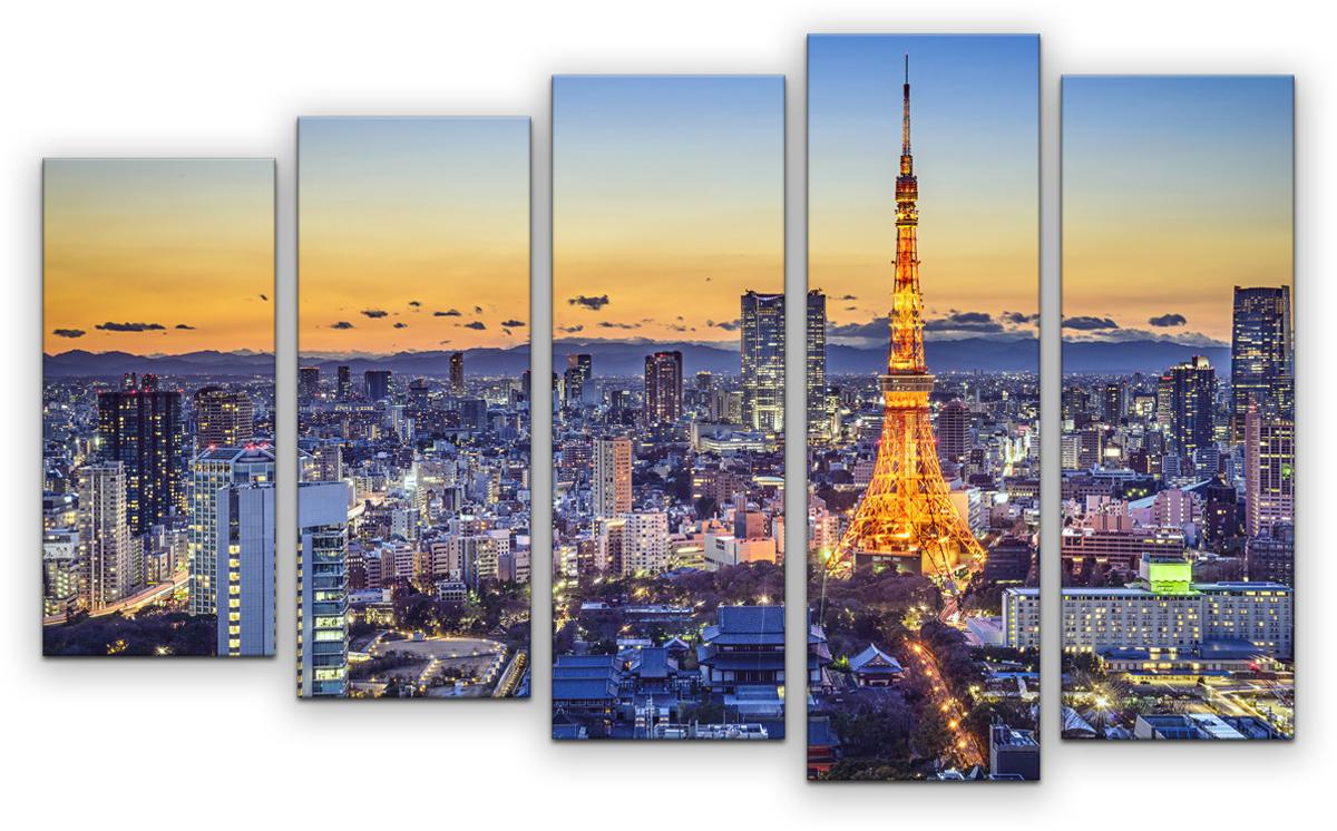Картина модульная Картиномания Париж в цвете, 90 х 57 см, Дерево, Холст картина модульная картиномания модный антиквариат 90 х 57 см дерево холст