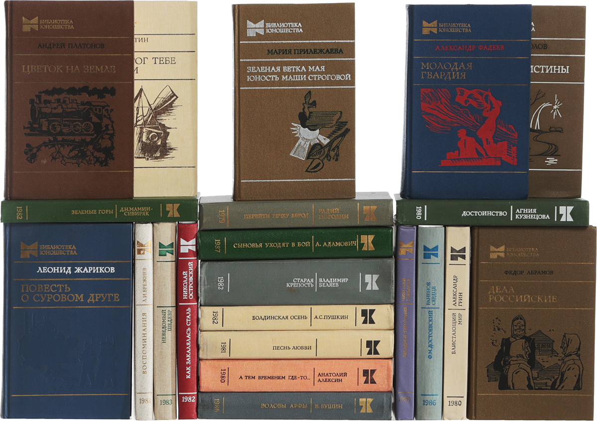 """Серия """"Библиотека юношества"""" (комплект из 22 книг)"""