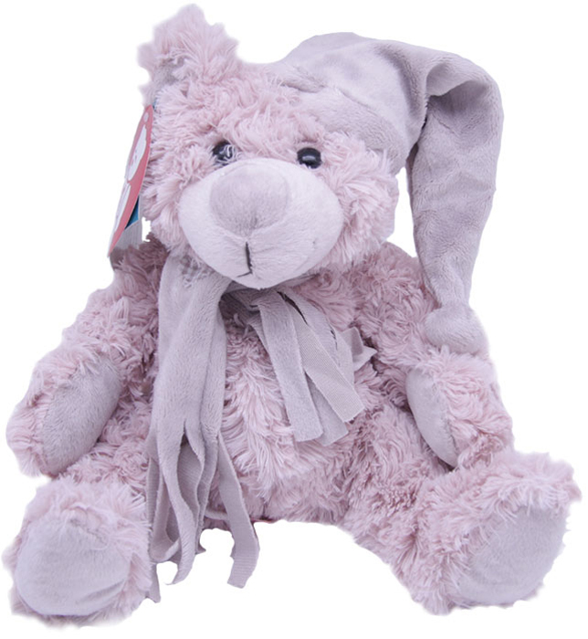 Magic Bear Toys Мягкая игрушка Мишка Дилан в шапке и шарфе 23 см светильник полярный мишка в шарфе 16 см