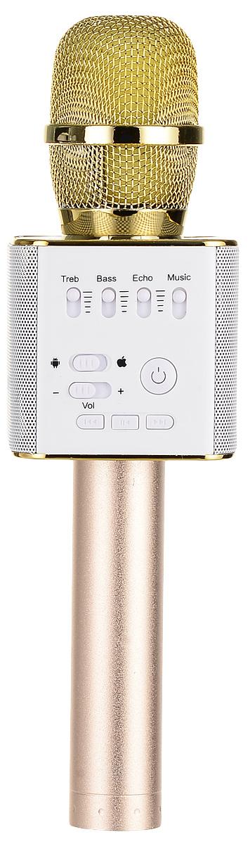 лучшая цена Караоке микрофон Karaoke Boom KB-09RU, Gold