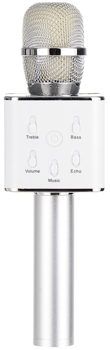 лучшая цена Караоке микрофон Karaoke Boom KB-07RU, Silver
