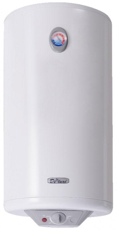 Водонагреватель накопительный электрический De luxe 3W50V1, 50 л, белый