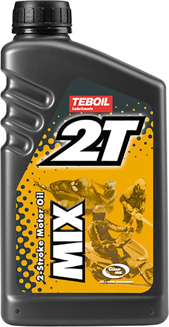 Масло моторное TEBOIL 2T MIX, минеральное, API TC, 1 л