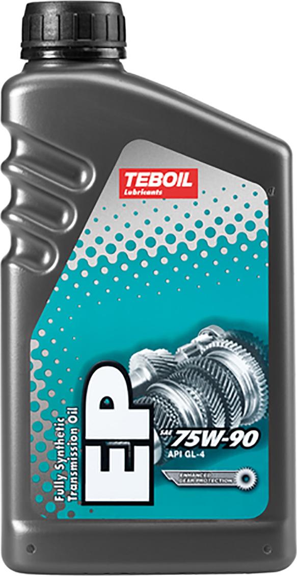Масло трансмиссионное TEBOIL EP, синтетическое, 75W-90, API GL-4, 1 л цена в Москве и Питере