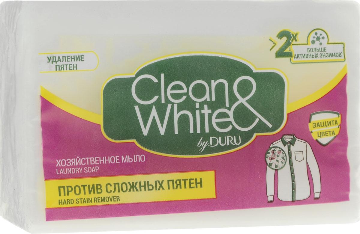 цена на Duru Clean&White Хозяйственное Мыло Пр.пят.125г