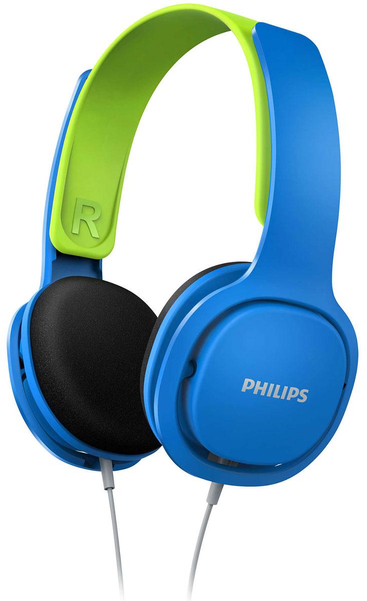 Philips SHK2000, Blue наушники для детей