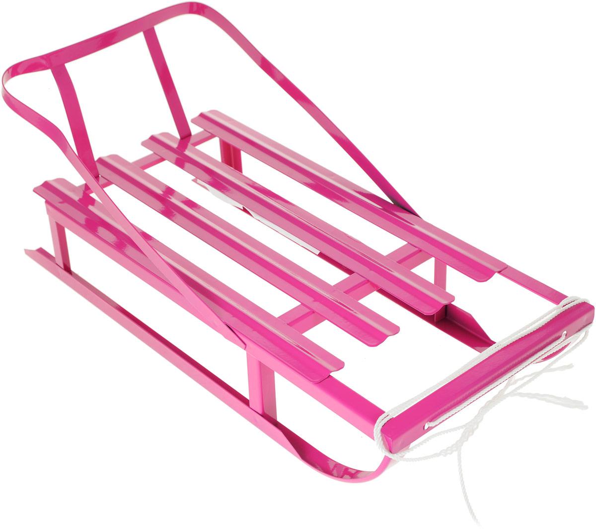 санки коляски Десятое королевство Санки для кукол цвет розовый